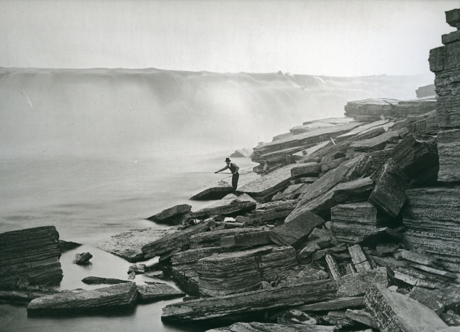 Notman_Chaudière Falls, Ottawa, Ontario, 1807pl141