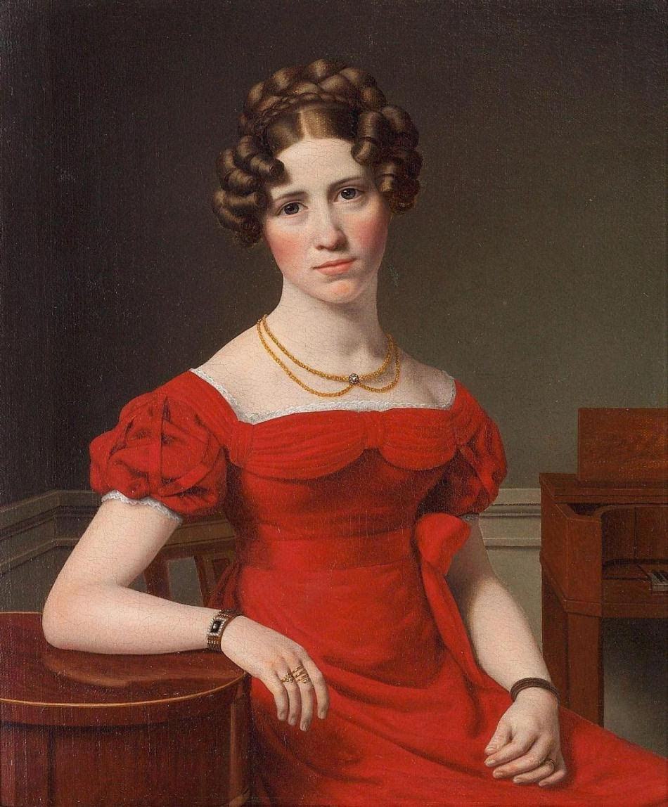 Eckersberg_Portrait of Louise Christiane Fugl