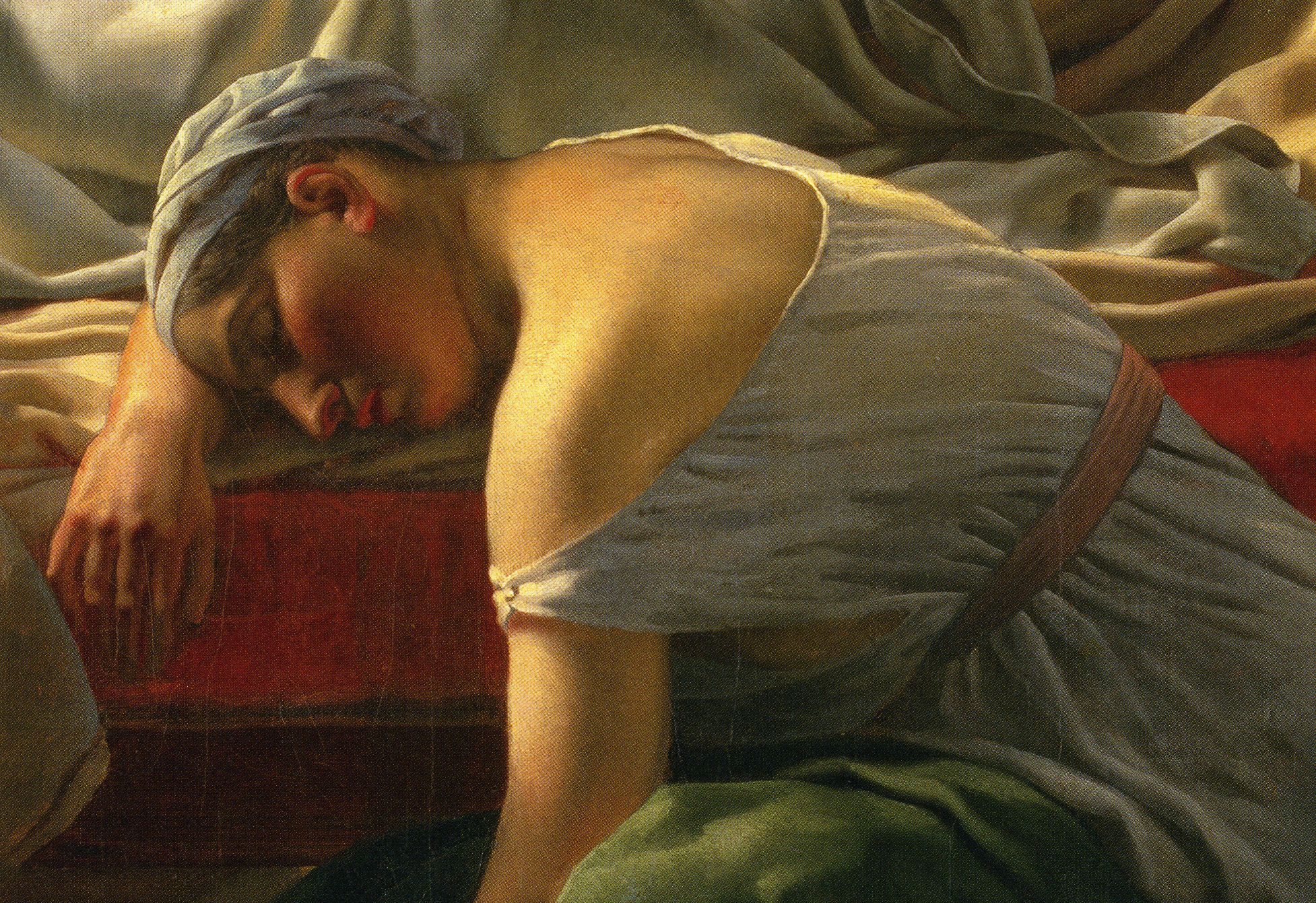 Eckersberg_Sleeping Woman in Antique Dress, Alcyone's Nurse, 1813-15_p130_R