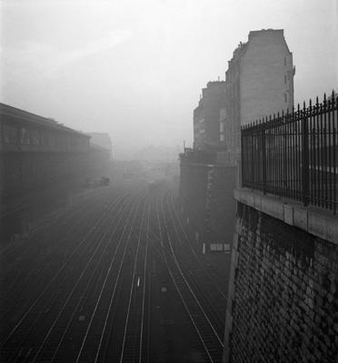 lucien hervé_gare saint-lazare, 1950