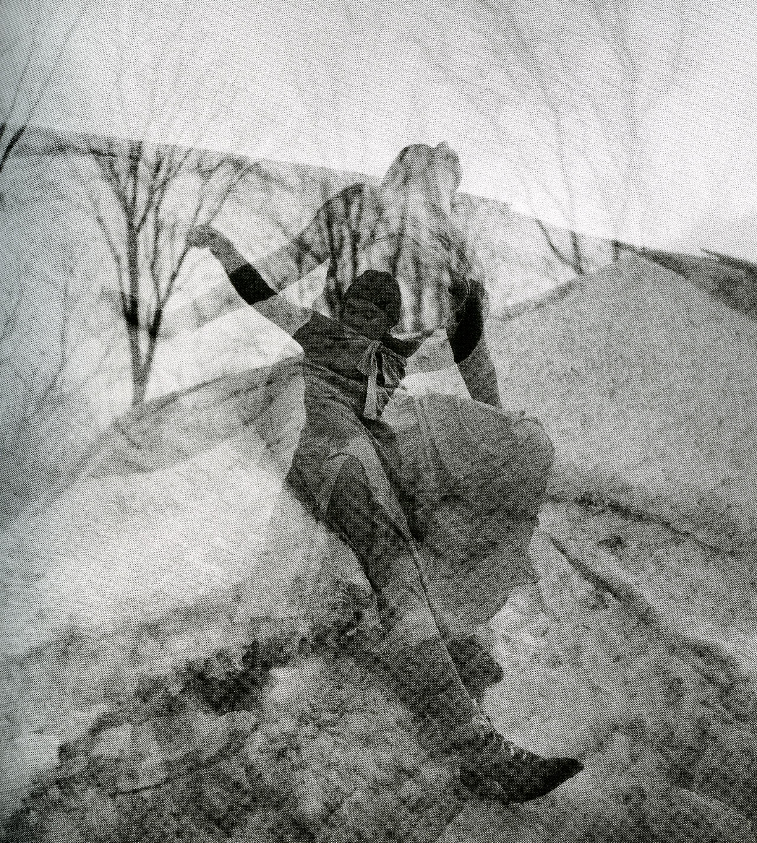 Perron_FSullivan_dans dans la neige_fév1948_pl36_p104