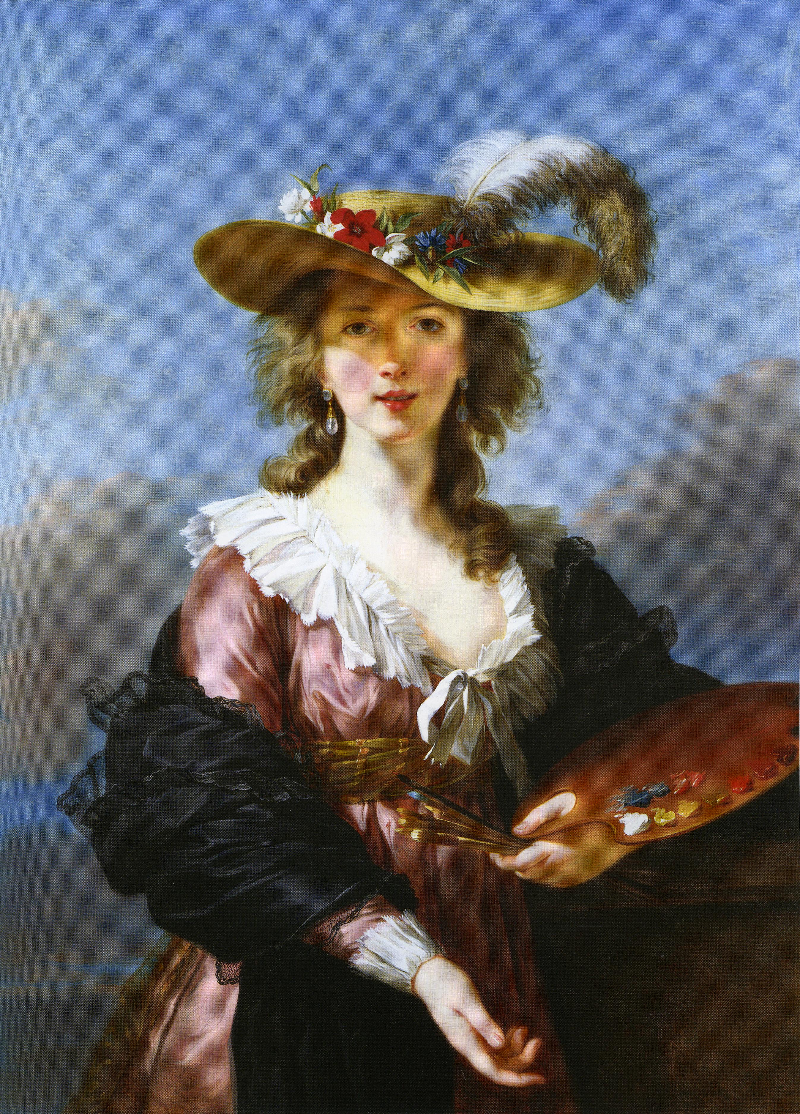 vigée-lebrun_autoportrait au chapeau de paille_après 1782