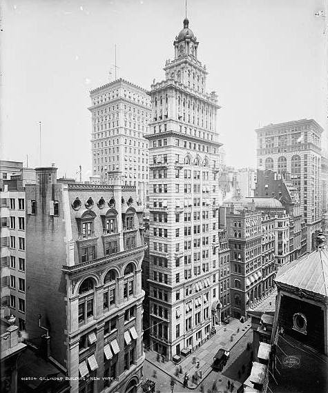 the lost gillender building_14 Wall Street, NYC