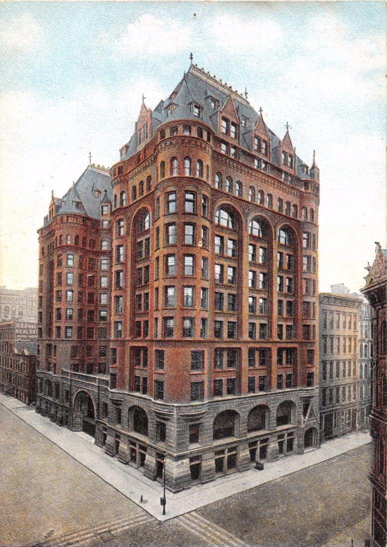 WCTU bldg, chicago, 1892-1926