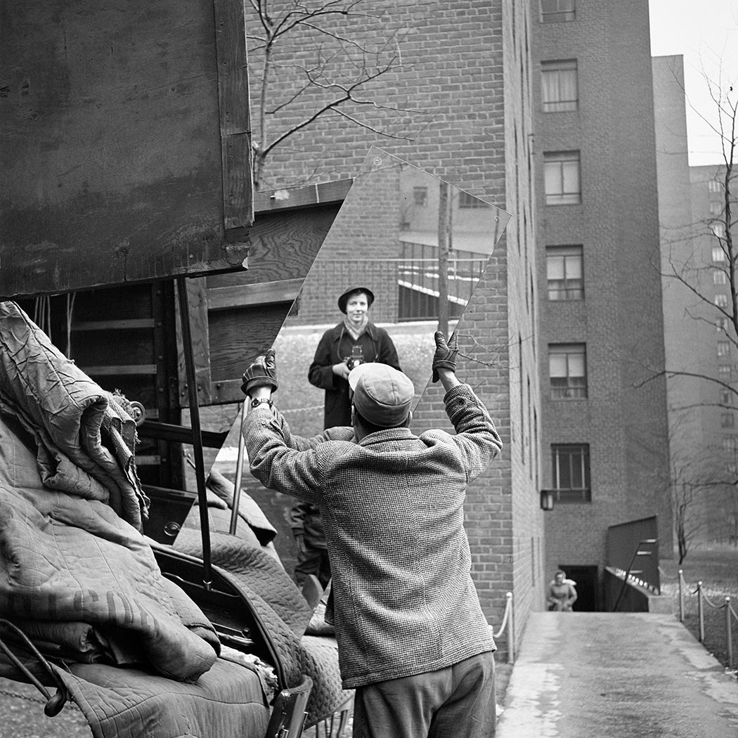 Vivian Maier_self-portrait, 1955