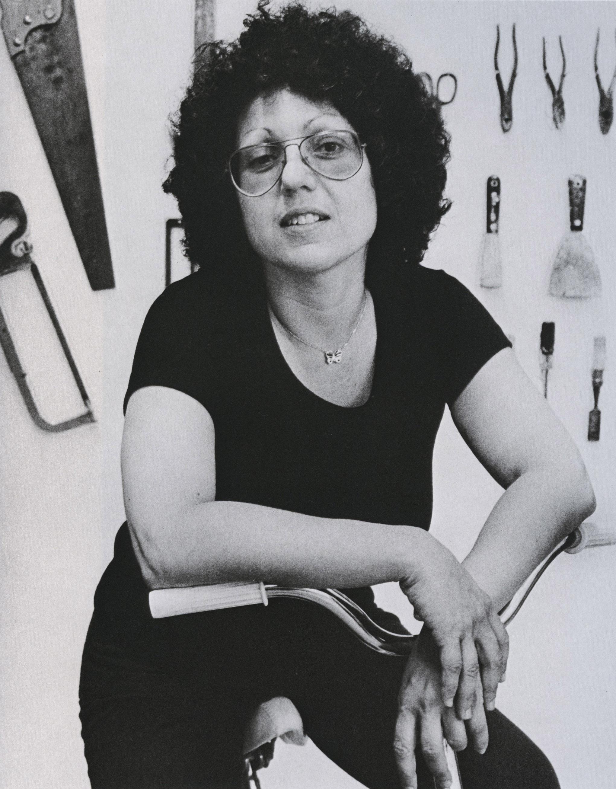 cynthia macadams_judy chicago, painter, 1976_p71
